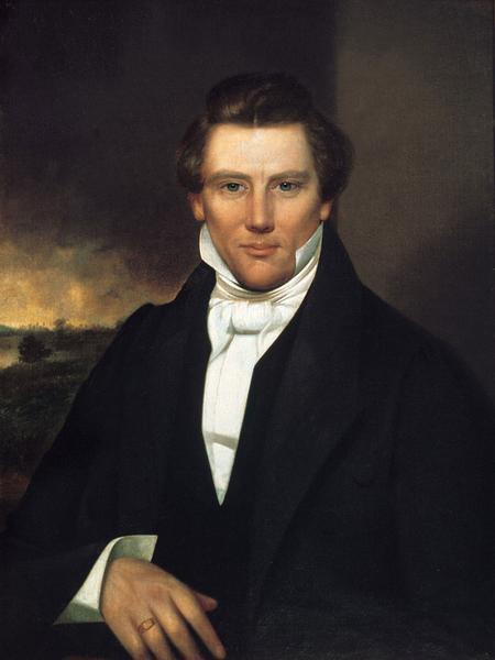 Oil on canvas, David Rogers, 1842. (Courtesy Community of Christ Library-Archives, Independence, MO.)