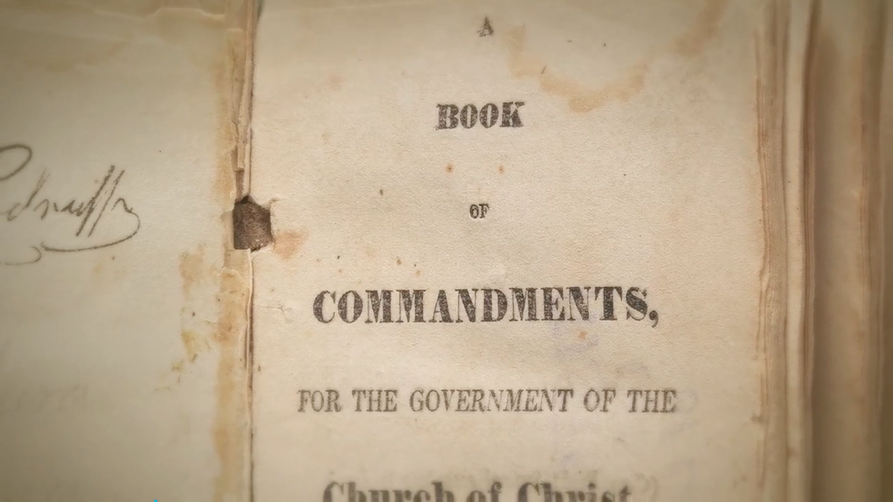 The Publication of the 1835 Doctrine and Covenants